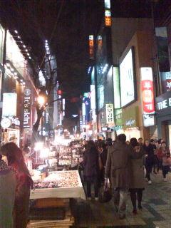 韓国最後の夜。