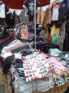 南大門市場。