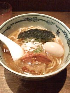 ラーメン『麺屋武蔵』。